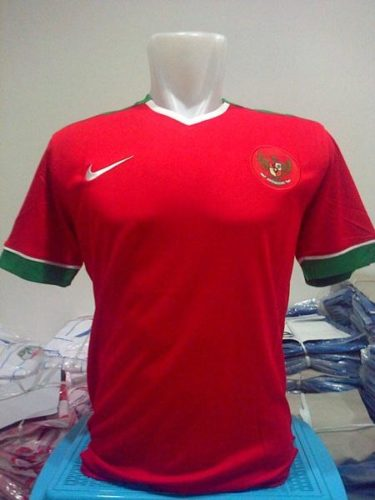 Jersey Bola Indonesia Home 2014-2015
