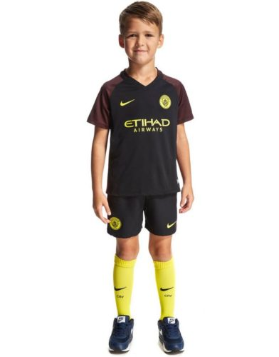 Kaos Jersey Manchester City Away Kids 2016-2017