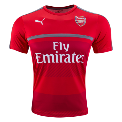 Jersey Arsenal Training Home Red 2016-2017