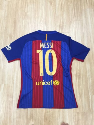 Kaos Jersey Barcelona Home 2016-2017 Lionel Messi