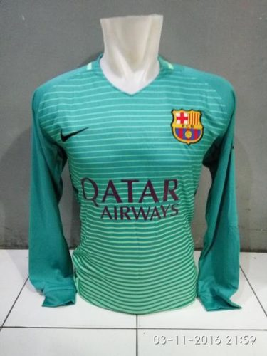 Jersey Barcelona 3rd Long Sleeve 2016-2017