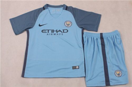 Jersey Manchester City Home Kids 2016-2017