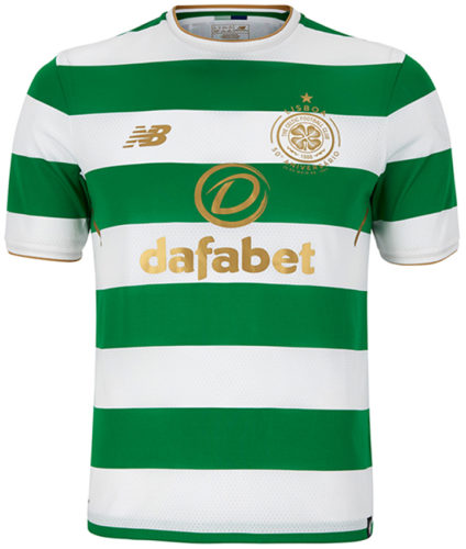 Jersey Bola Celtic Home 2017-2018