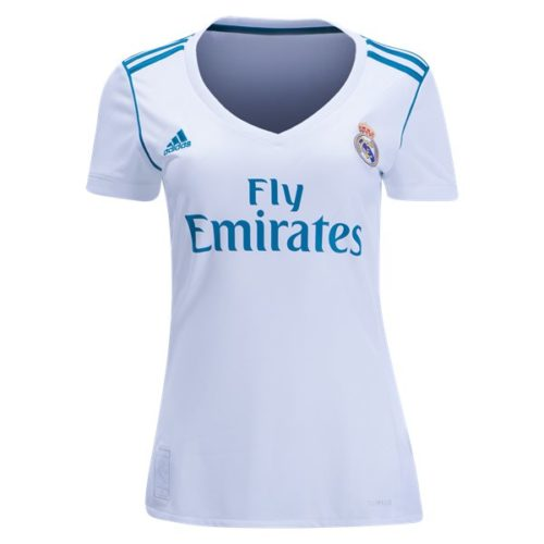 Jersey Bola Real Madrid Home Ladies 2017-2018
