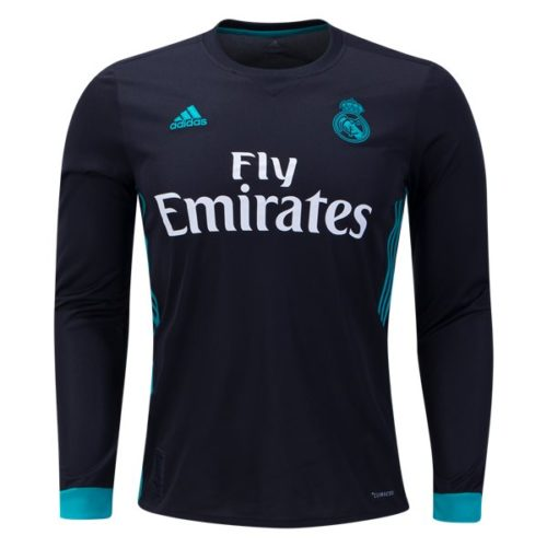 Jersey Real Madrid Away Long Sleeve 2017-2018