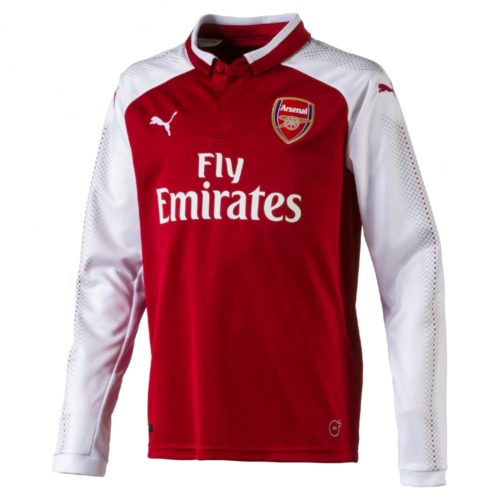 Jersey Arsenal Home Long Sleeve 2017-2018