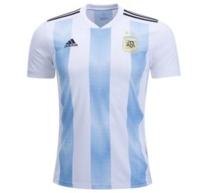 Jersey Bola Argentina Home World Cup 2018