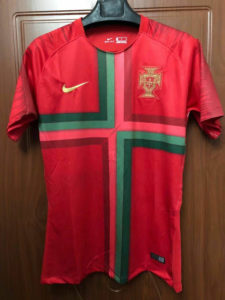 Kaos Jersey Portugal Home World Cup 2018
